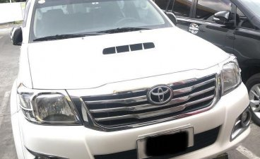 Sell White 2016 Toyota Hilux in Quezon City