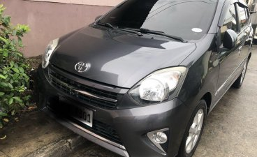 Sell Grey 2016 Toyota Wigo in Mabalacat