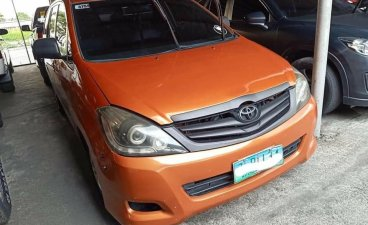 Sell Orange 2008 Toyota Innova in Manila