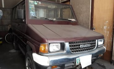 Maroon Toyota tamaraw 1998 for sale in Quezon City