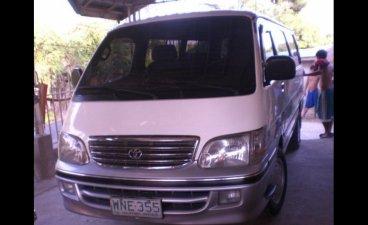 Selling White Toyota Hiace 2000 Van in Sison