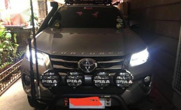 Grey Toyota Fortuner 2017 for sale in Caloocan City