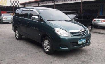Sell Green 2010 Toyota Innova SUV / MPV in Quezon City
