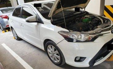 Pearl White Toyota Vios 2019 for sale in Manila