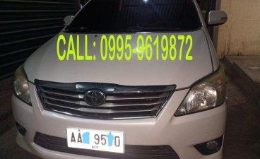 White Toyota Innova 2014 for sale in Quezon City