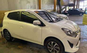 White Toyota Wigo 2019 for sale in Muñoz