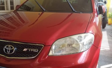Selling Red Toyota Vios 2005 in San Mateo