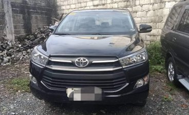Black Toyota Innova 2017 for sale in Quezon City