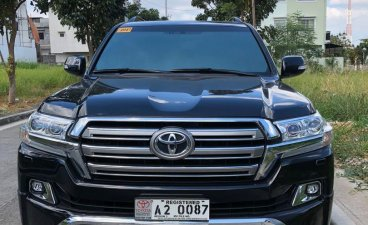 Black Toyota Land Cruiser 2018 for sale in Manila