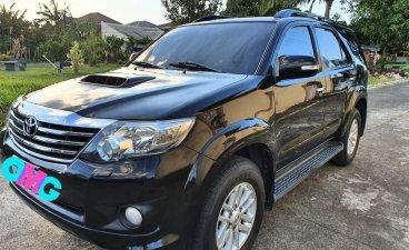 Selling Black Toyota Fortuner 2013 in Calamba
