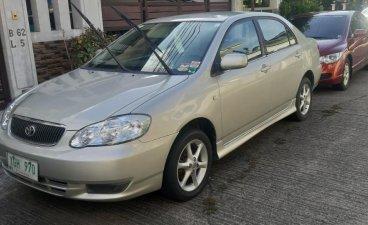Silver Toyota Corolla altis 2003 for sale in Manila