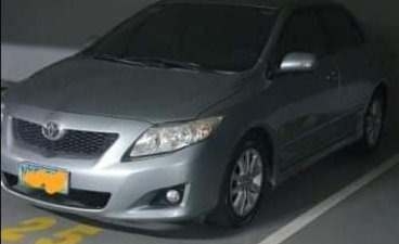 Grey Toyota Corolla altis 2009 for sale in Manila