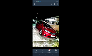 Red Toyota Corolla altis 2015 Sedan AT 22 for sale in Dasmariñas City,