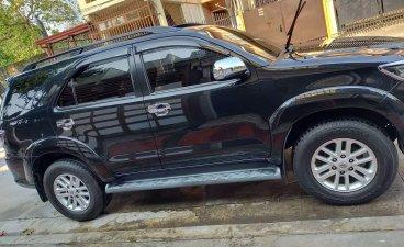 Black Toyota Fortuner 2013 SUV / MPV for sale in Quezon City
