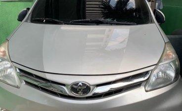 Sell Silver 2014 Toyota Avanza Van in Manila