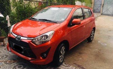 Orange Toyota Wigo 2019 for sale in Baguio City