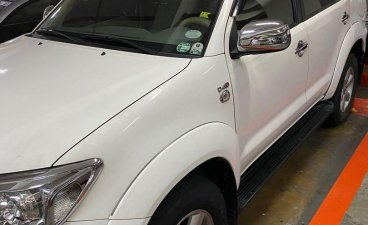 Selling White Toyota Fortuner 2011 in Manila