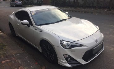 Selling White Toyota 86 2013 in Antipolo