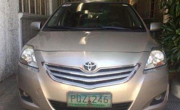 Beige Toyota Vios 2011 for sale in Manila