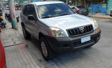 White Toyota Prado for sale in Makati City