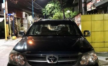 Black Toyota Fortuner 2006 for sale in Mandaluyong Cit