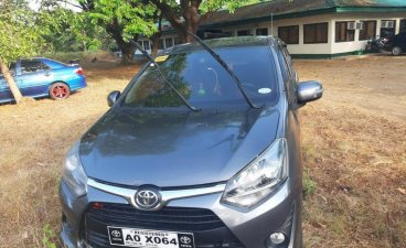 Grey Toyota Wigo 2017 for sale in Manila