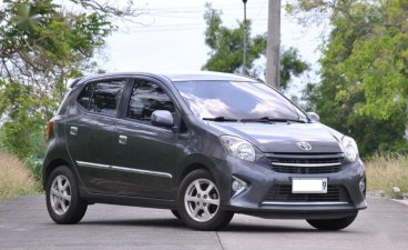 Grey Toyota Wigo 2017 for sale in Dasmariñas