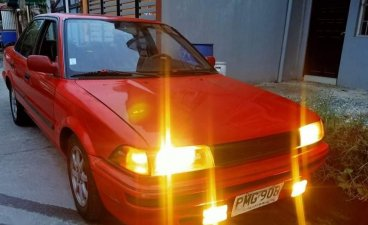 Red Toyota Corolla 1990 for sale in Taytay