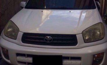 Sell White 2002 Toyota Rav4 in Cebu I.T. Park