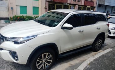 White Toyota Fortuner 2019 for sale in Manila