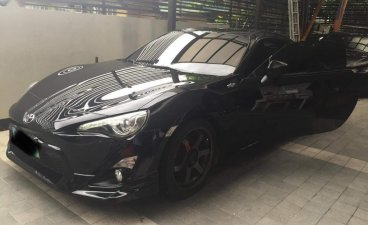 Selling Black Toyota 86 2012 in Quezon City