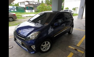 Blue Toyota Wigo 2017 for sale in Bacolod