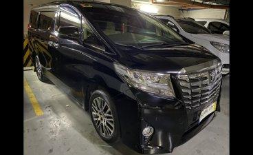 Sell Black 2016 Toyota Alphard Van in Manila