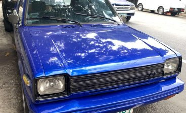 Blue Toyota Starlet 1981 for sale in Quezon City