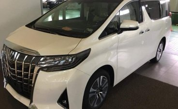 Pearl White Toyota Alphard 2019 for sale in Manila