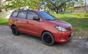 Red Toyota Innova 2010 for sale in Manila