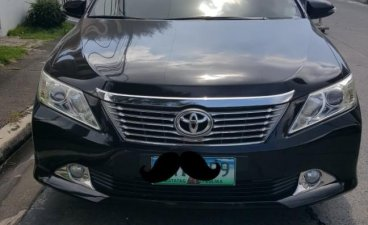 Black Toyota Camry 2013 for sale in Las Pinas