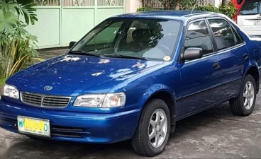 Selling Blue Toyota Corolla 1999 in Pasig City