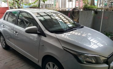 Selling Silver Toyota Yaris 2015 in Pasay City