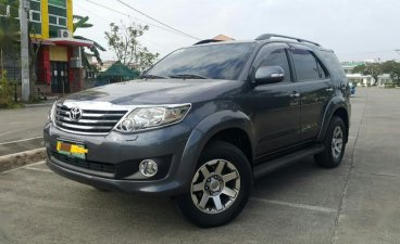 Grey Toyota Fortuner 2018 for sale in Cavite