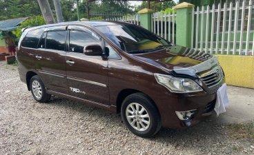 Brown Toyota Innova 2013 for sale in Cavite