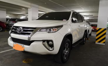 White Toyota Fortuner 2016 for sale in Pasig City