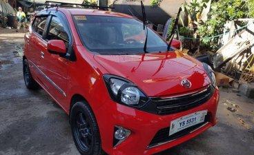 Selling Red Toyota Wigo 2016 in Manila