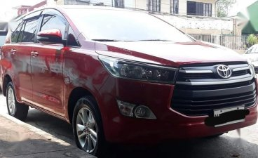 Red Toyota Innova 2016 for sale in Marikina