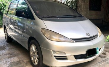 Silver Toyota Previa 2004 for sale in Manila