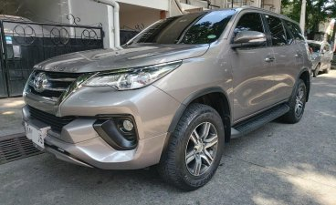 Selling Grey Toyota Fortuner 2017 in Manila