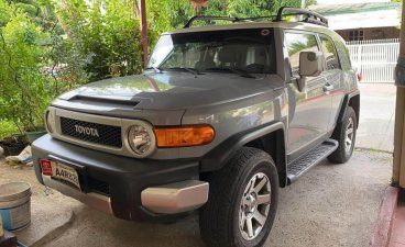 Silver Toyota Fj Cruiser for sale in Las Piñas