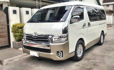 Pearl White Toyota Grandia for sale in Quezon City