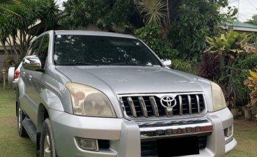 Silver Toyota Land cruiser prado for sale in Cebu City
