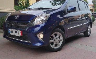 Sell Blue 2016 Toyota Wigo in Manila